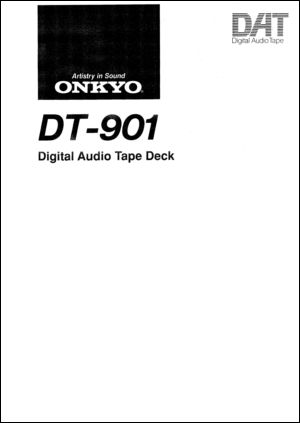 User Manual: DT-901.PDF