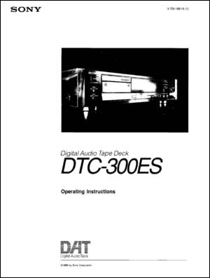 User Manual: DTC-300ES.PDF