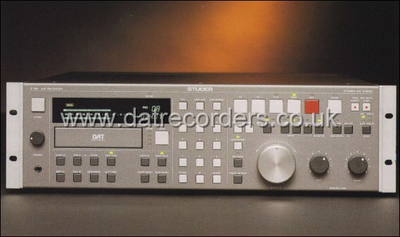 Studer D780 Professional DAT Recorder