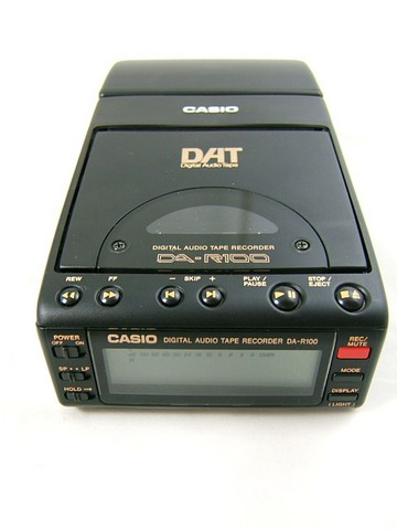 Casio DA-R100 Portable DAT Recorder