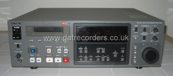 Sony PCM-7040 Professional DAT Recorder
