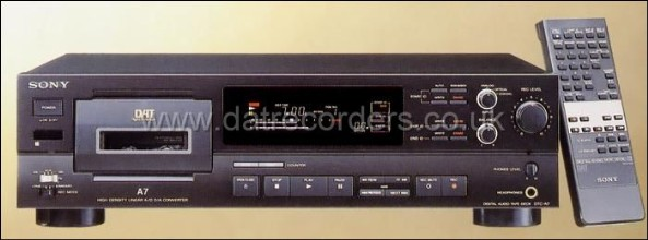 SOny DTC-A7 DAT Recorder