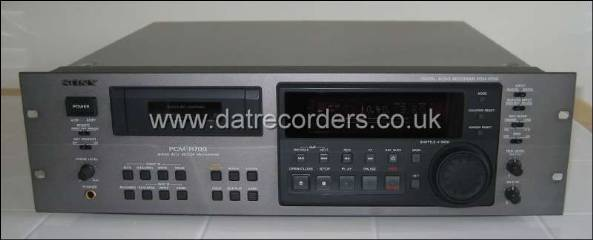Sony PCM-R700 Professional DAT Recorder