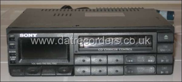Sony DTX-10 In Car DAT Player