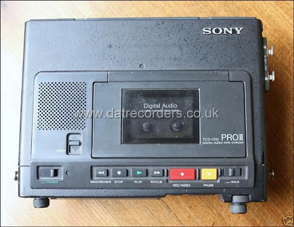 Sony TCD-D10 PROII Portable DAT recorder