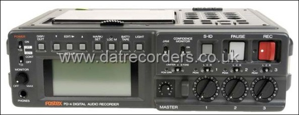 Fostex PD-4 Professional Portable DAT Recorder