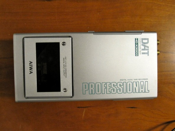AIWA HD-X3000 Professional Portable DAT Recorder