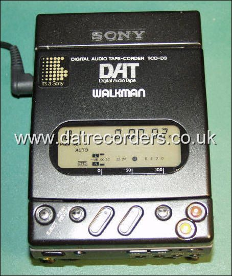 The TCD-D3, Sony's first portable DAT recorder